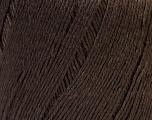 Fiber Content 50% Linen, 50% Viscose, Brand Ice Yarns, Brown, Yarn Thickness 2 Fine  Sport, Baby, fnt2-27253