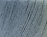 Fiber Content 50% Linen, 50% Viscose, Light Grey, Brand Ice Yarns, Yarn Thickness 2 Fine  Sport, Baby, fnt2-27255