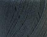 Fiber Content 50% Linen, 50% Viscose, Brand Ice Yarns, Dark Grey, Yarn Thickness 2 Fine  Sport, Baby, fnt2-27256