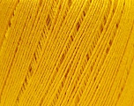 Fiber Content 50% Linen, 50% Viscose, Yellow, Brand Ice Yarns, Yarn Thickness 2 Fine  Sport, Baby, fnt2-27257