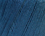 Fiber Content 50% Linen, 50% Viscose, Brand Ice Yarns, Blue, Yarn Thickness 2 Fine  Sport, Baby, fnt2-27266