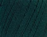 Fiber Content 50% Linen, 50% Viscose, Brand Ice Yarns, Dark Green, Yarn Thickness 2 Fine  Sport, Baby, fnt2-27269