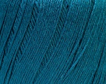 Fiber Content 50% Linen, 50% Viscose, Teal, Brand ICE, Yarn Thickness 2 Fine  Sport, Baby, fnt2-27271