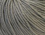 Fiber Content 50% Cotton, 50% Acrylic, Brand ICE, Grey, Yarn Thickness 3 Light  DK, Light, Worsted, fnt2-27351