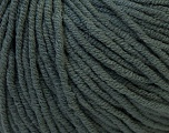 Fiber Content 50% Cotton, 50% Acrylic, Brand ICE, Dark Grey, Yarn Thickness 3 Light  DK, Light, Worsted, fnt2-27352