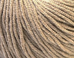 Fiber Content 50% Acrylic, 50% Cotton, Brand Ice Yarns, Beige, Yarn Thickness 3 Light  DK, Light, Worsted, fnt2-27353