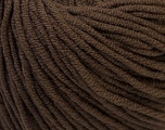 Fiber Content 50% Cotton, 50% Acrylic, Brand ICE, Brown, Yarn Thickness 3 Light  DK, Light, Worsted, fnt2-27355