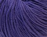 Fiber Content 50% Cotton, 50% Acrylic, Purple, Brand ICE, Yarn Thickness 3 Light  DK, Light, Worsted, fnt2-27364