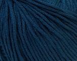 Fiber Content 50% Cotton, 50% Acrylic, Navy, Brand ICE, Yarn Thickness 3 Light  DK, Light, Worsted, fnt2-27368
