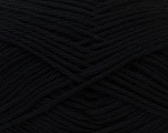 Baby cotton is a 100% premium giza cotton yarn exclusively made as a baby yarn. It is anti-bacterial and machine washable! Fiber Content 100% Giza Cotton, Brand Ice Yarns, Black, Yarn Thickness 3 Light  DK, Light, Worsted, fnt2-27890