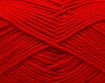 Baby cotton is a 100% premium giza cotton yarn exclusively made as a baby yarn. It is anti-bacterial and machine washable! Fiber Content 100% Giza Cotton, Red, Brand Ice Yarns, Yarn Thickness 3 Light  DK, Light, Worsted, fnt2-27894