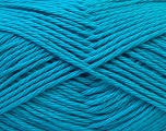 Baby cotton is a 100% premium giza cotton yarn exclusively made as a baby yarn. It is anti-bacterial and machine washable! Fiber Content 100% Giza Cotton, Turquoise, Brand Ice Yarns, Yarn Thickness 3 Light  DK, Light, Worsted, fnt2-27898
