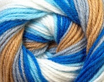 Fiber Content 100% Baby Acrylic, White, Brand Ice Yarns, Grey, Camel, Blue, Yarn Thickness 2 Fine  Sport, Baby, fnt2-29606