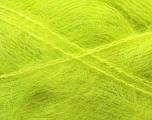 Fiber Content 70% Mohair, 30% Acrylic, Phosphoric Yellow, Brand Ice Yarns, Yarn Thickness 5 Bulky  Chunky, Craft, Rug, fnt2-29911