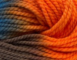 In this yarn a 100% Wool yarn is used. Dyeing process is totally hand made with natural plants and NO chemicals were used. For this reason, please be advised that some white parts may remain. Fiber Content 100% Wool, Orange, Brand ICE, Camel, Blue, Yarn Thickness 5 Bulky  Chunky, Craft, Rug, fnt2-30605