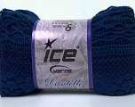 Fiber Content 65% Nylon, 35% Acrylic, Navy, Brand ICE, Yarn Thickness 6 SuperBulky  Bulky, Roving, fnt2-30613