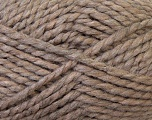 SuperBulky  Fiber Content 60% Acrylic, 30% Alpaca, 10% Wool, Light Camel, Brand Ice Yarns, Yarn Thickness 6 SuperBulky  Bulky, Roving, fnt2-30828