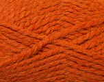 SuperBulky  Fiber Content 60% Acrylic, 30% Alpaca, 10% Wool, Orange, Brand Ice Yarns, Yarn Thickness 6 SuperBulky  Bulky, Roving, fnt2-30831