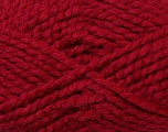 SuperBulky  Fiber Content 60% Acrylic, 30% Alpaca, 10% Wool, Brand Ice Yarns, Burgundy, Yarn Thickness 6 SuperBulky  Bulky, Roving, fnt2-30832