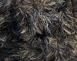 Fiber Content 100% Polyamide, Light Brown, Brand ICE, Black, Yarn Thickness 5 Bulky  Chunky, Craft, Rug, fnt2-30839