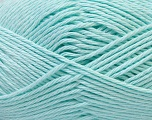 Baby cotton is a 100% premium giza cotton yarn exclusively made as a baby yarn. It is anti-bacterial and machine washable! Fiber Content 100% Giza Cotton, Mint Green, Brand Ice Yarns, Yarn Thickness 3 Light  DK, Light, Worsted, fnt2-31125