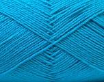 Fiber Content 60% Merino Wool, 40% Acrylic, Turquoise, Brand Ice Yarns, Yarn Thickness 2 Fine  Sport, Baby, fnt2-32518