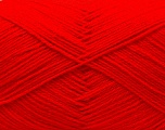 Fiber Content 60% Merino Wool, 40% Acrylic, Red, Brand ICE, Yarn Thickness 2 Fine  Sport, Baby, fnt2-32519