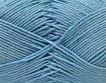 Fiber Content 100% Mercerised Cotton, Light Blue, Brand Ice Yarns, Yarn Thickness 2 Fine  Sport, Baby, fnt2-32540