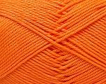 Fiber Content 100% Mercerised Cotton, Light Orange, Brand ICE, Yarn Thickness 2 Fine  Sport, Baby, fnt2-32547