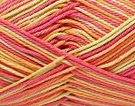 Fiber Content 100% Mercerised Cotton, Salmon, Pink, Orange, Brand ICE, Green, Yarn Thickness 2 Fine  Sport, Baby, fnt2-32549