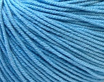 Fiber Content 60% Cotton, 40% Acrylic, Light Blue, Brand ICE, Yarn Thickness 2 Fine  Sport, Baby, fnt2-32560