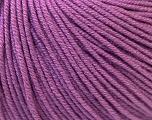 Fiber Content 60% Cotton, 40% Acrylic, Lavender, Brand Ice Yarns, Yarn Thickness 2 Fine  Sport, Baby, fnt2-32564