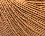 Fiber Content 60% Cotton, 40% Acrylic, Light Brown, Brand ICE, Yarn Thickness 2 Fine  Sport, Baby, fnt2-32565