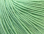 Fiber Content 60% Cotton, 40% Acrylic, Mint Green, Brand Ice Yarns, Yarn Thickness 2 Fine  Sport, Baby, fnt2-32566