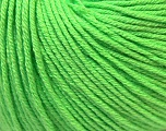 Fiber Content 60% Cotton, 40% Acrylic, Light Green, Brand Ice Yarns, Yarn Thickness 2 Fine  Sport, Baby, fnt2-32622