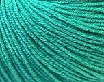 Fiber Content 60% Cotton, 40% Acrylic, Brand ICE, Emerald Green, Yarn Thickness 2 Fine  Sport, Baby, fnt2-32623