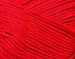 Conţinut de fibre 100% Viscoză, Red, Brand Ice Yarns, Yarn Thickness 2 Fine  Sport, Baby, fnt2-32649