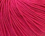 Fiber Content 60% Cotton, 40% Acrylic, Brand Ice Yarns, Fuchsia, Yarn Thickness 2 Fine  Sport, Baby, fnt2-32822