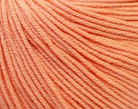 Fiber Content 60% Cotton, 40% Acrylic, Light Salmon, Brand Ice Yarns, Yarn Thickness 2 Fine  Sport, Baby, fnt2-32823
