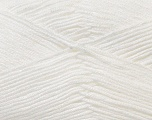 Fiber Content 100% Antibacterial Dralon, White, Brand ICE, Yarn Thickness 2 Fine  Sport, Baby, fnt2-32828