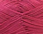 Fiber Content 100% Antibacterial Dralon, Brand ICE, Dark Pink, Yarn Thickness 2 Fine  Sport, Baby, fnt2-32835