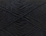 Fiber Content 50% Cotton, 50% Polyester, Brand Ice Yarns, Black, Yarn Thickness 2 Fine  Sport, Baby, fnt2-33038