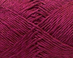 Fiber Content 50% Cotton, 50% Polyester, Brand Ice Yarns, Burgundy, Yarn Thickness 2 Fine  Sport, Baby, fnt2-33043
