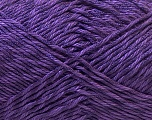 Fiber Content 50% Polyester, 50% Cotton, Purple, Brand Ice Yarns, Yarn Thickness 2 Fine  Sport, Baby, fnt2-33047