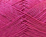 Fiber Content 50% Polyester, 50% Cotton, Pink, Brand Ice Yarns, Yarn Thickness 2 Fine  Sport, Baby, fnt2-33048