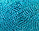Fiber Content 50% Cotton, 50% Polyester, Turquoise, Brand Ice Yarns, Yarn Thickness 2 Fine  Sport, Baby, fnt2-33051