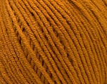 Fiber Content 50% Cotton, 50% Acrylic, Brand ICE, Dark Gold, Yarn Thickness 3 Light  DK, Light, Worsted, fnt2-33059