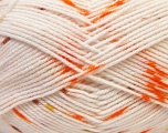 Fiber Content 100% Acrylic, Orange, Light Salmon, Light Green, Brand Ice Yarns, Brown, Yarn Thickness 2 Fine  Sport, Baby, fnt2-33074