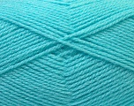 Fiber Content 100% Baby Acrylic, Light Turquoise, Brand Ice Yarns, Yarn Thickness 2 Fine  Sport, Baby, fnt2-33131