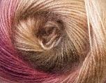 Fiber Content 75% Acrylic, 25% Angora, Pink, Lilac, Brand Ice Yarns, Cream, Camel, Yarn Thickness 2 Fine  Sport, Baby, fnt2-33237
